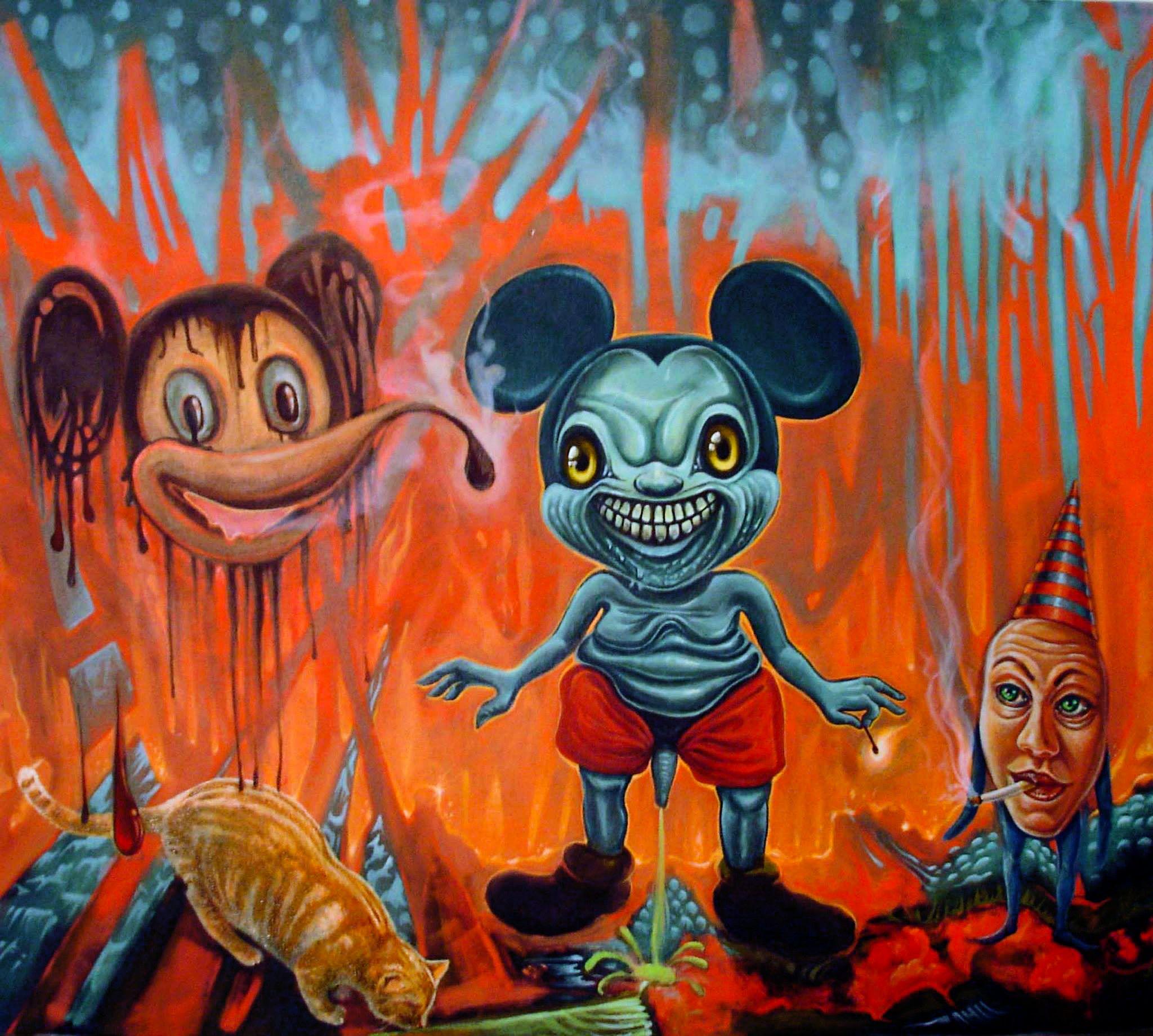 Pop Surrealism Lowbrow Art Costa Magarakis
