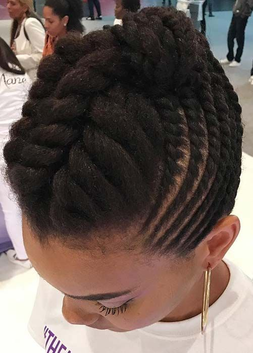 30++ Natural hair braids styles 2020 inspirations