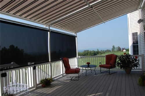Durasol Awnings Deck Patio Sunstructure Family Pinnacle