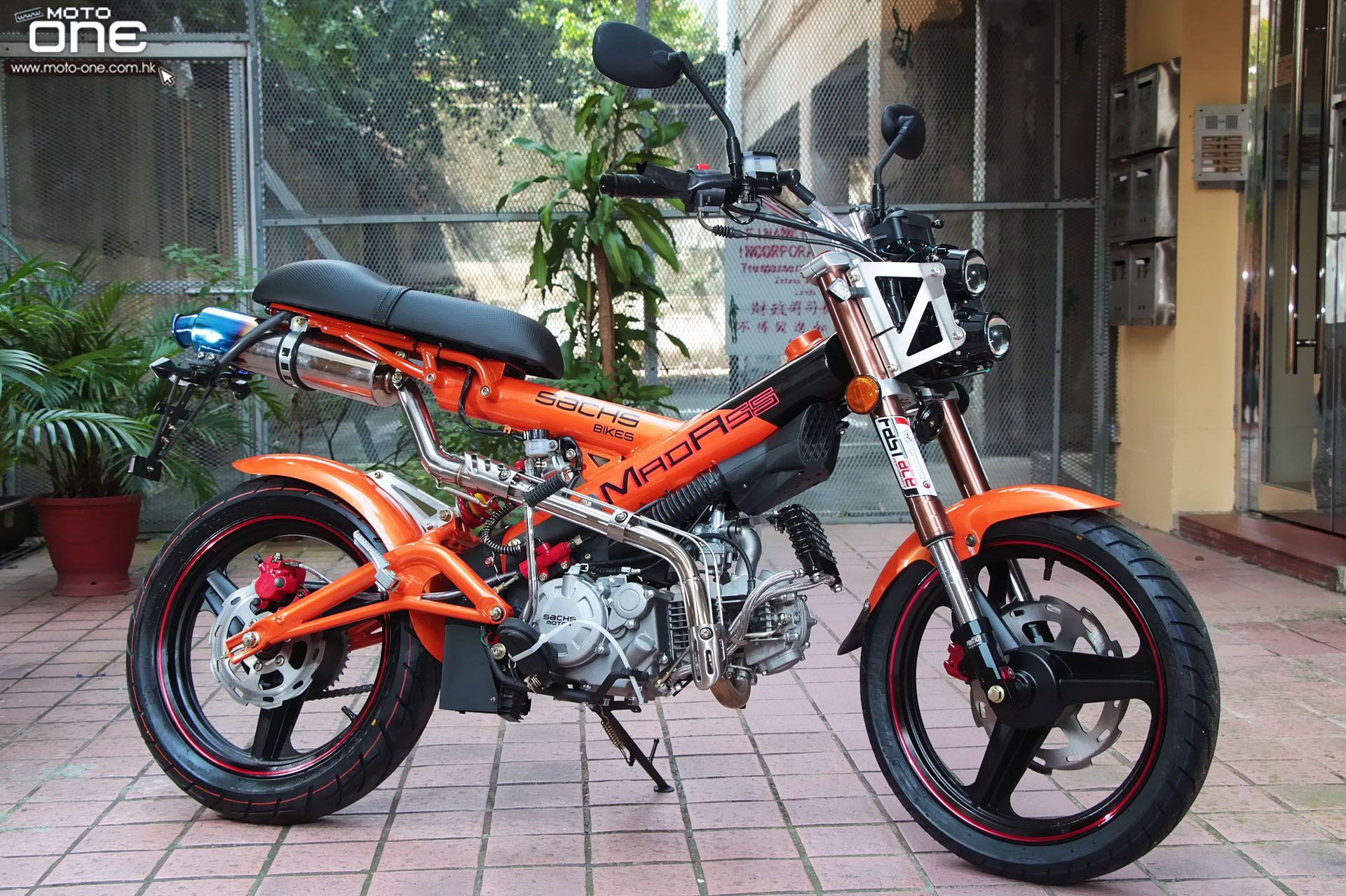 Moped licensemad ass bike
