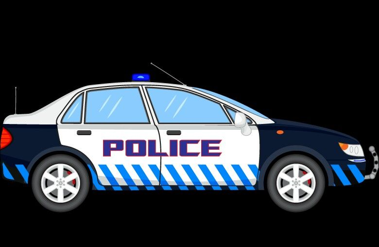 Pin By Claire Bertrand On Metier Police Cars Police Car Cartoon