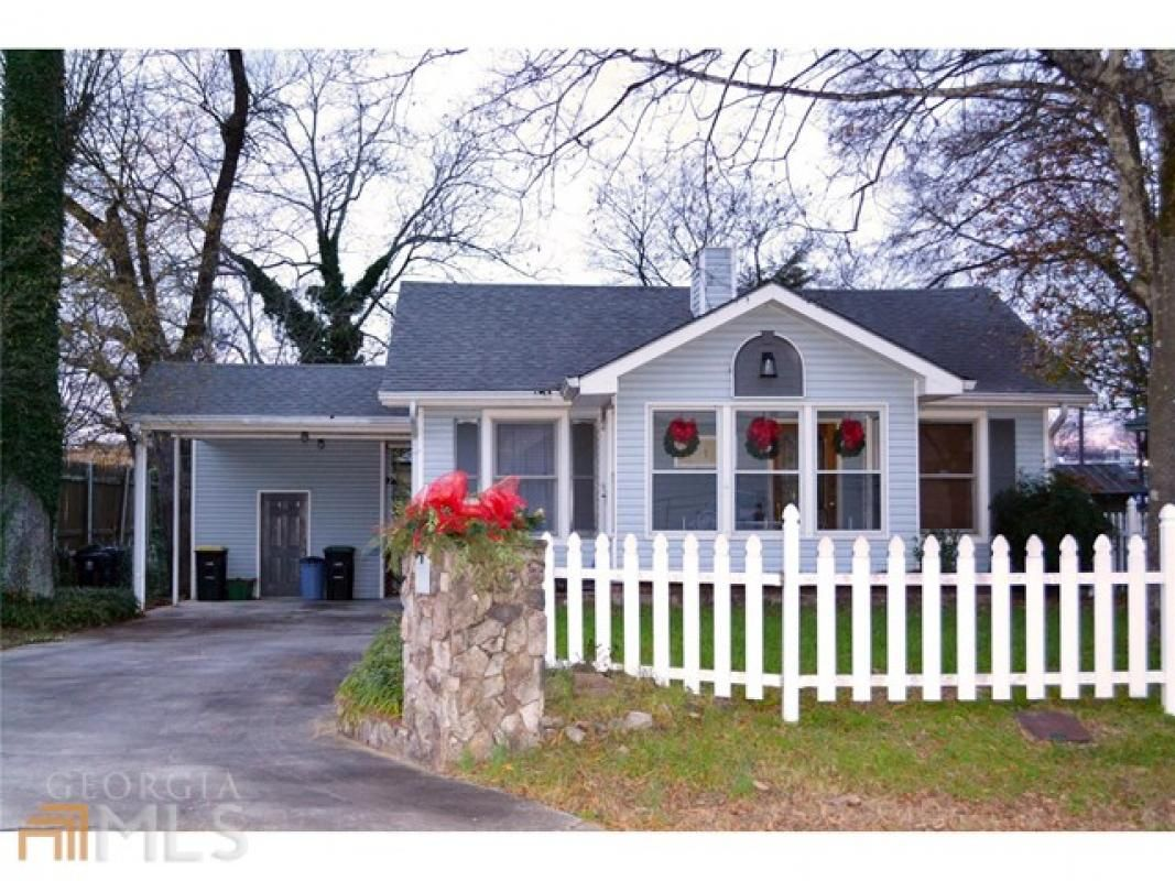 Dearly loved cottage in move-in condition. Recently renovated with stainless steel appliances. Beautiful touches throughout! Vaulted ceilings. A touch of adorable character mixed with new updates! Very clean and well maintained! This home is as cute as can be! Walk to schools, shopping, restaurants! Irrigation system, burglar alarm system, nice gutters with guards, fenced-in back yard, cute low-maintenance vinyl picket fence in front.