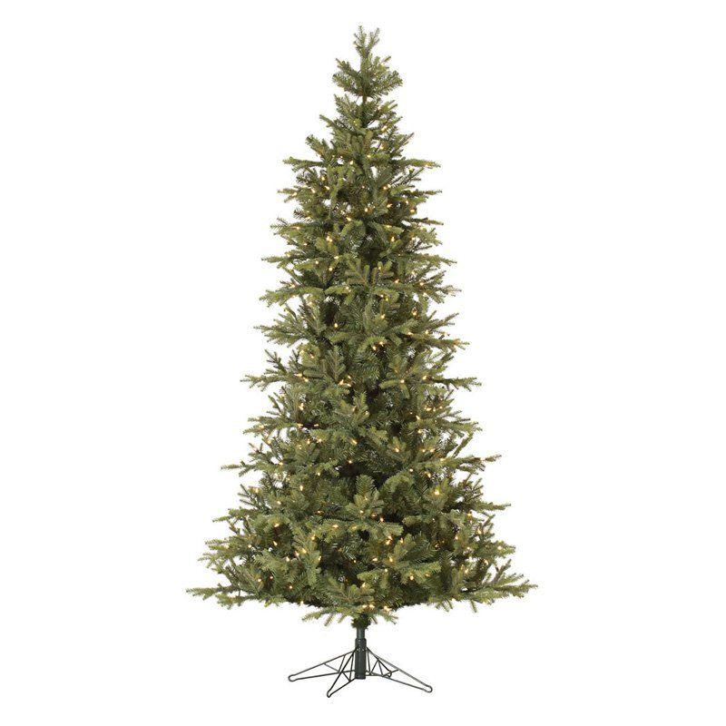 Elk Frasier Slim Pre Lit Christmas Tree | From Hayneedle.