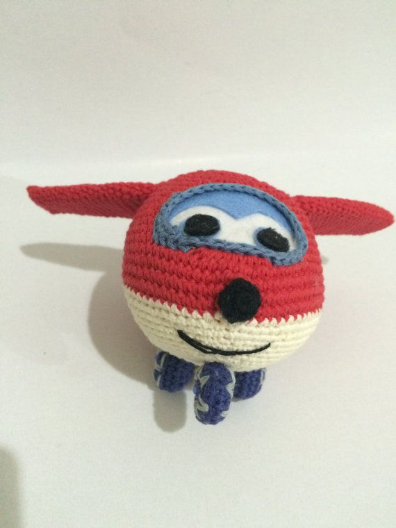 PATTERN - Super Wings Jet | Häkeln | Pinterest | Häkeln, Stricken ...