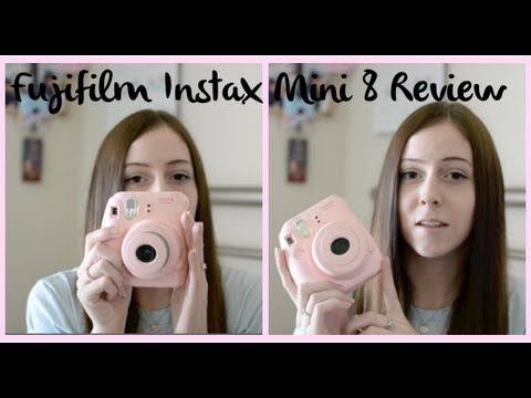 Fujifilm Instax Mini 8 Review | HeyJamieLyn - YouTube