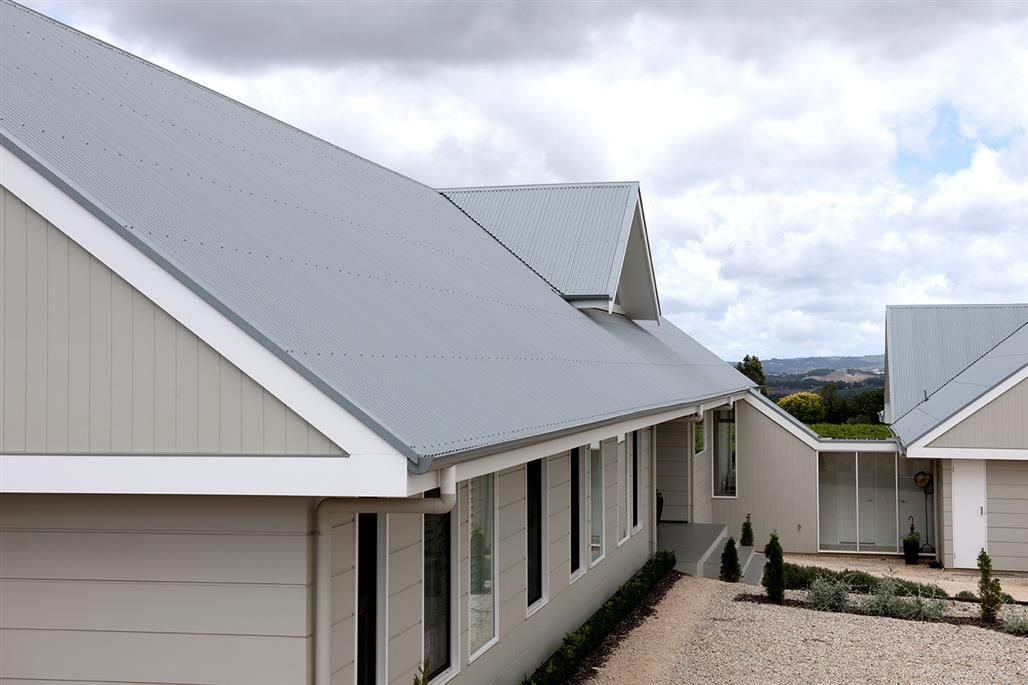 Windspray colorbond roof house pinterest exterior colors house colors and house for Colorbond colour schemes exterior