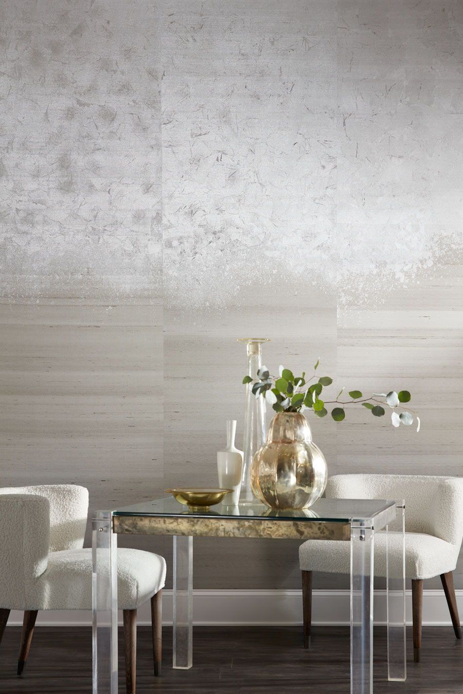 The Metallic Ombré wallcovering from Phillip Jeffries in ...