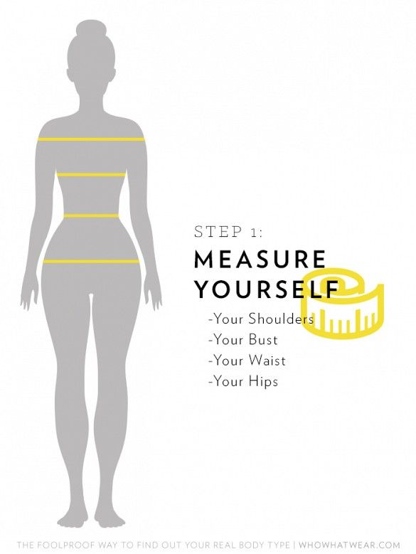 The Foolproof Way to Find Out Your Real Body Type | Shopping