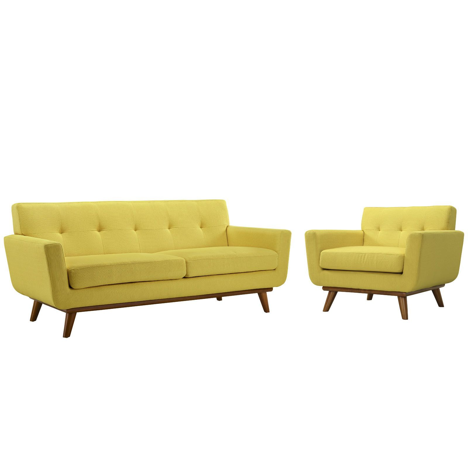 Engage Armchair And Loveseat Set Wayfair Living Room Sets Living Room Upholstery Armchair