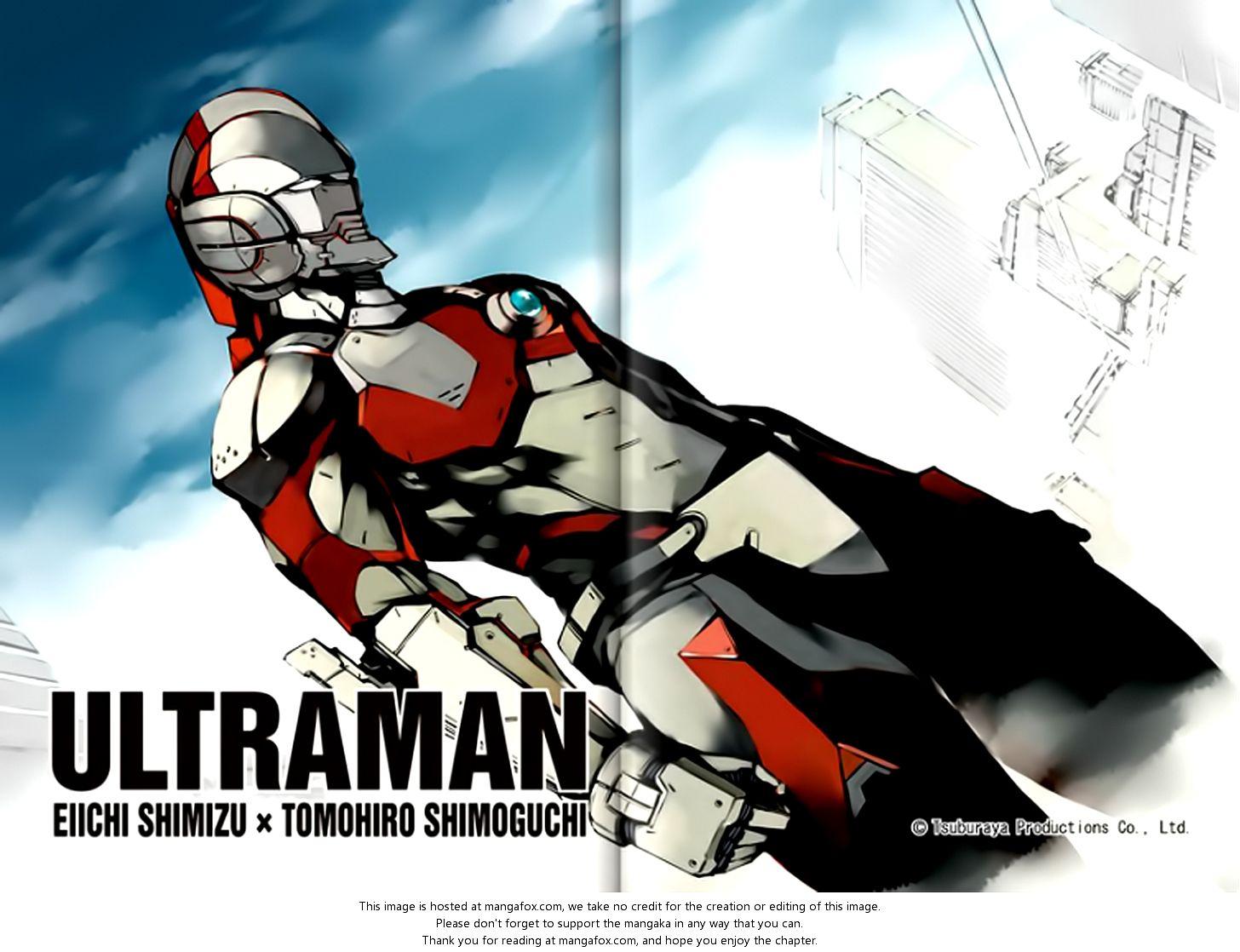 Ultraman Cartoon Ultraman Chapter Ch.1 Popular anime