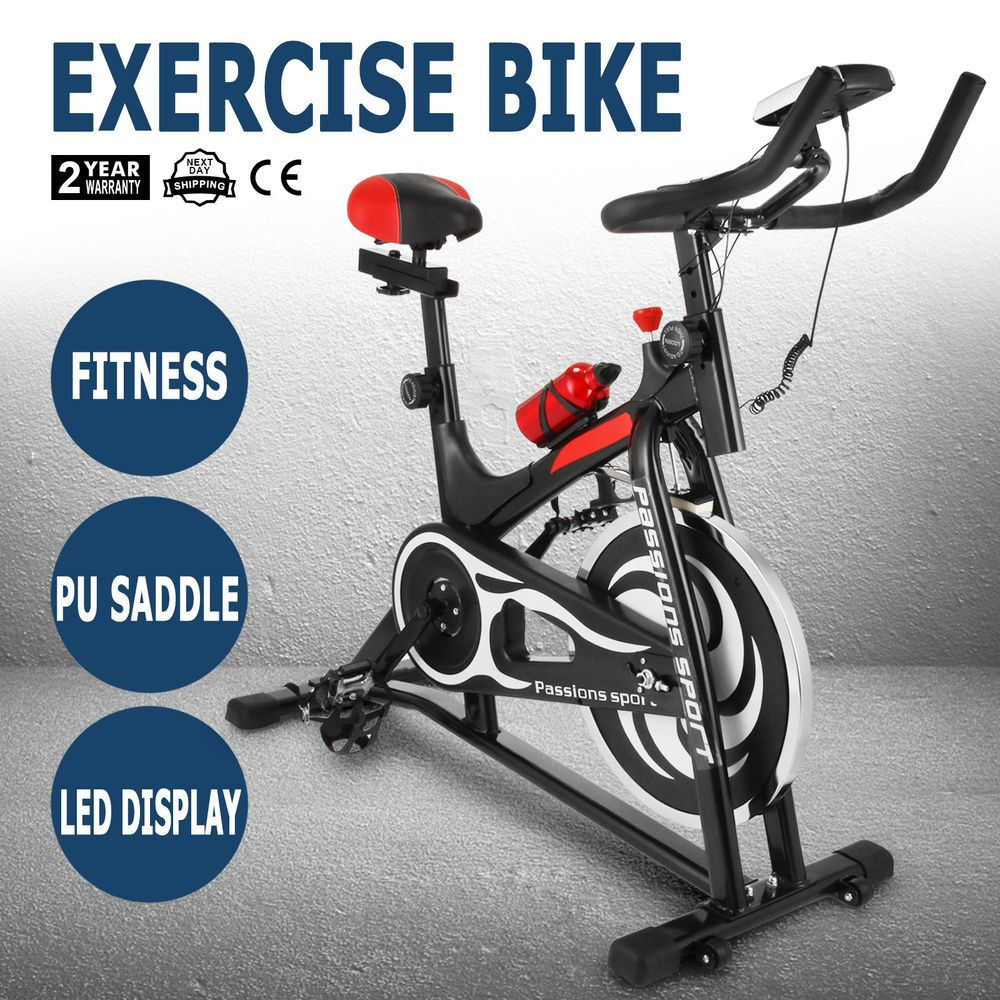 Exercise Bike Stationary Bicycle Indoor Cycling Fitness Cardio Training Workout No Need To Hit The Gym Or Pay For Those Ex Biking Workout Bicycle Workout Bike