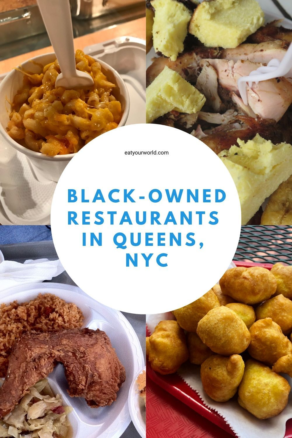Black Owned Restaurants In Queens Nyc Eat Your World Blog In 2020 Nyc Food Queens Food Eat