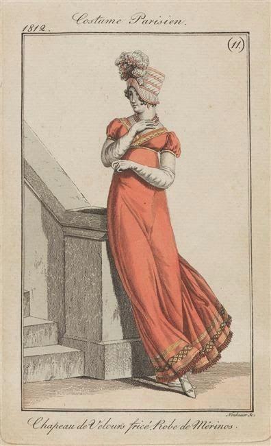 Kleider mode um 1800