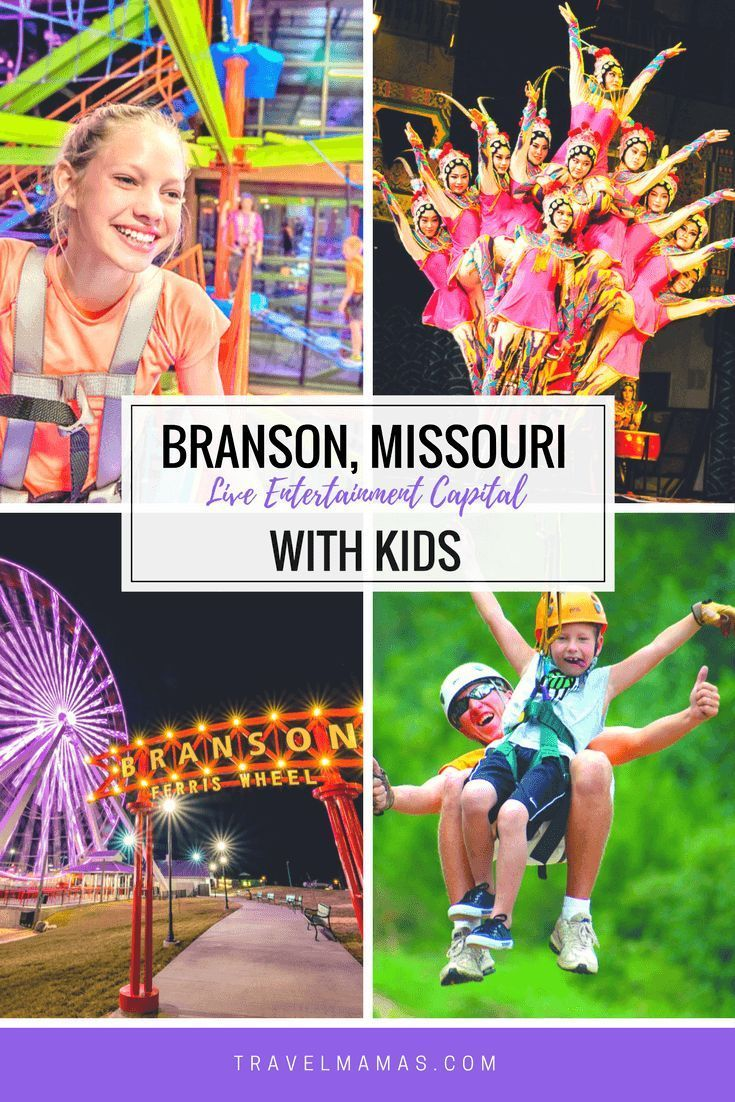 Branson Family Vacation In The Worlds Live Entertainment Capital