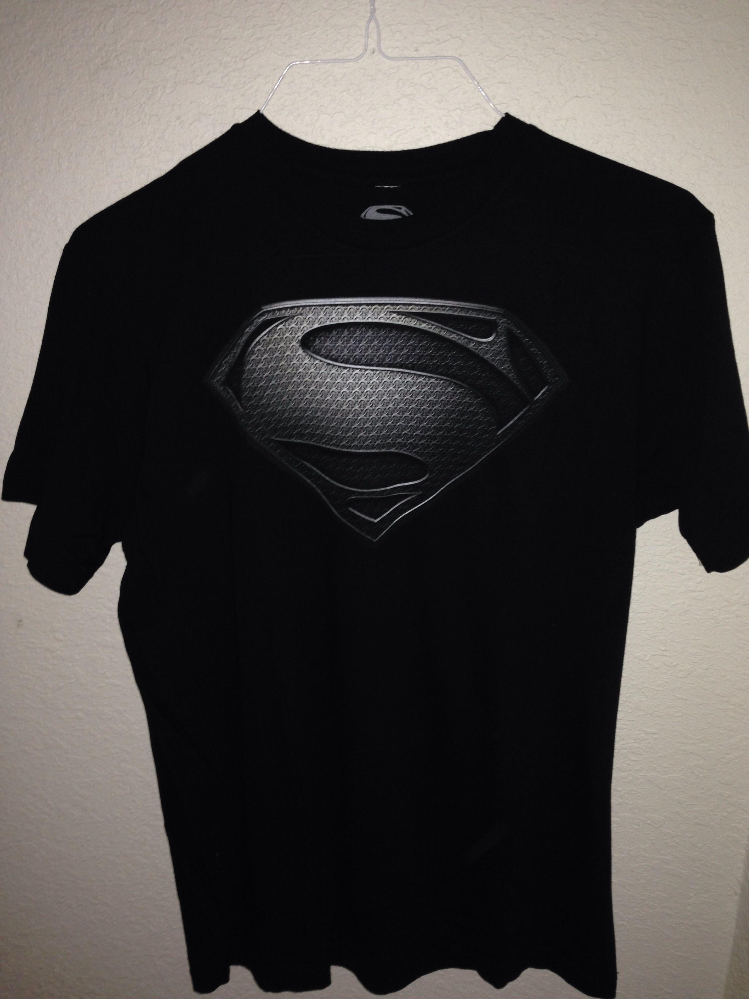 439735ca Superman Tshirt- Man of Steel