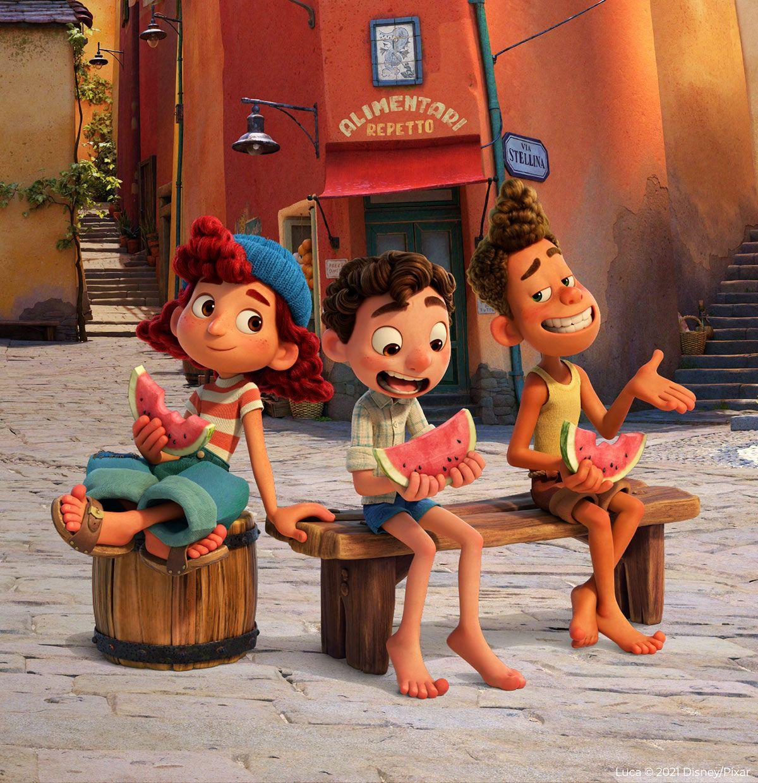 Watermelon + Pixar's Luca - Watermelon Board