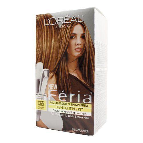 Amazon.com : L\u002639;Oreal Paris Feria Hair Color, 74 Deep Copper\/Copper Shimmer : Chemical Hair Dyes