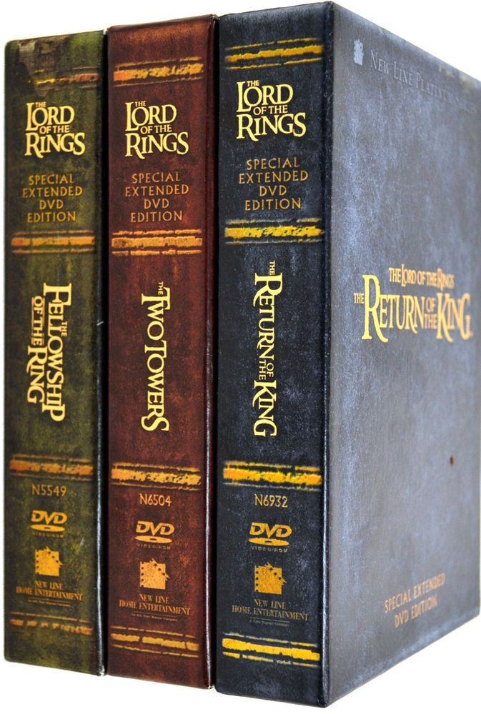Lord Of The Rings Special Extended Dvd Editions 3 Movie Collection Lord Of The Rings Movie Collection Lord