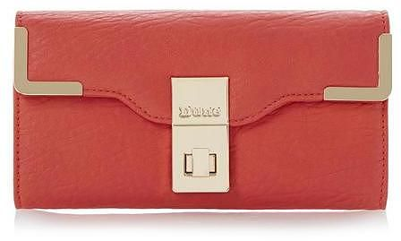 Womens terracotta purse from Dune - £17 at ClothingByColour.com