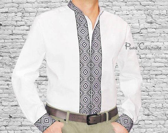 6efe3b73135f Designer shirts men Cotton shirts Long sleeve shirt men Customized shirt  Button down shirt men Black