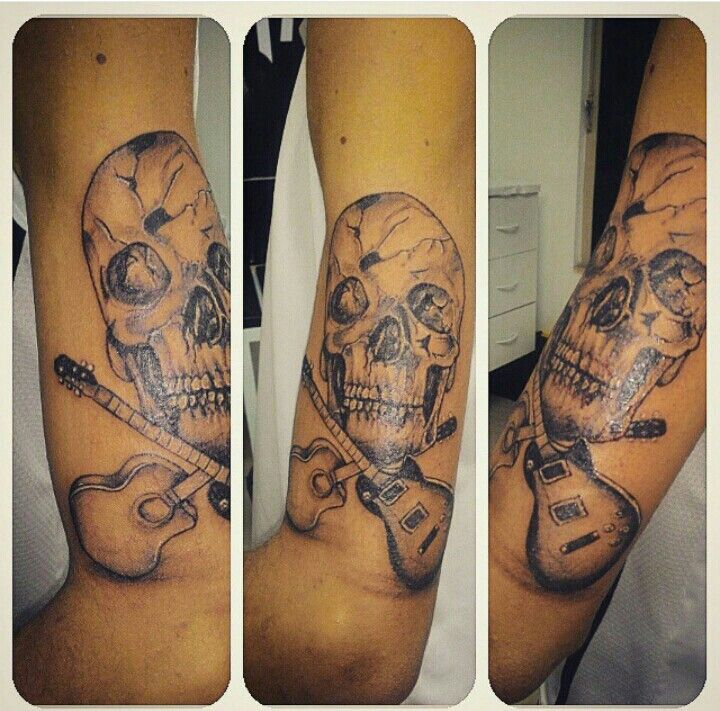 Crânio tattoo