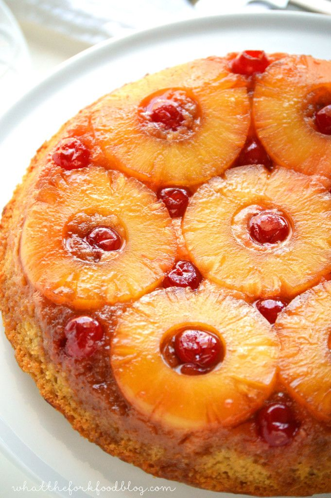 Vegan Gluten Free Pineapple Upside Down Cake