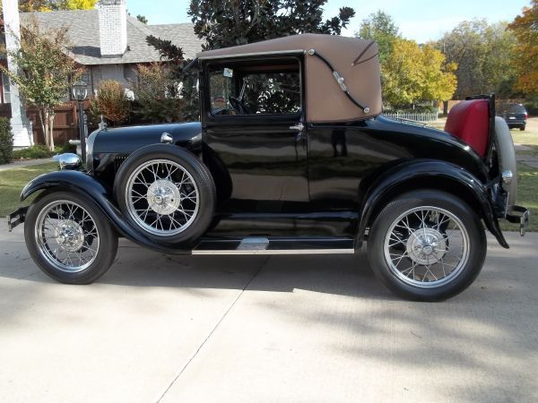 1929 ford model a 2 door sports coupe for sale fort smith ar craigslist things that i enjoy. Black Bedroom Furniture Sets. Home Design Ideas