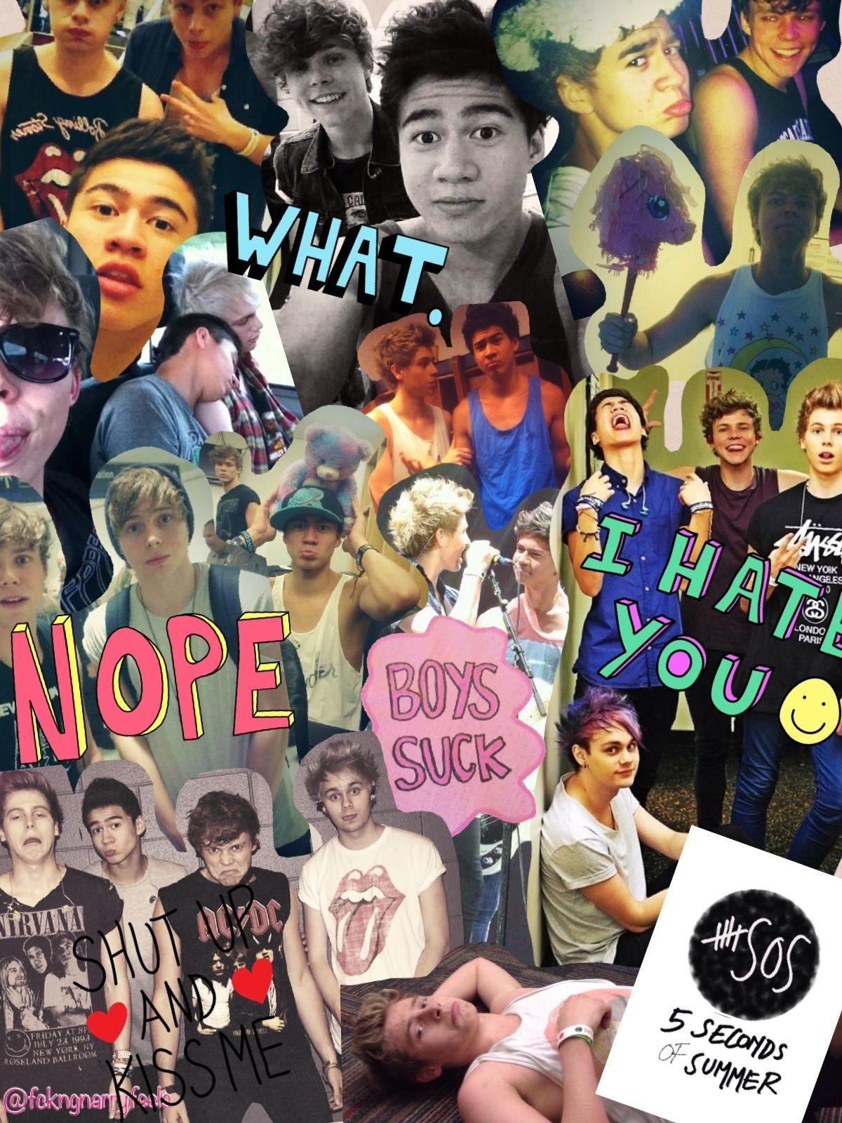 Ashton irwin iphone wallpaper tumblr -  4 5sos Collage Tumblr