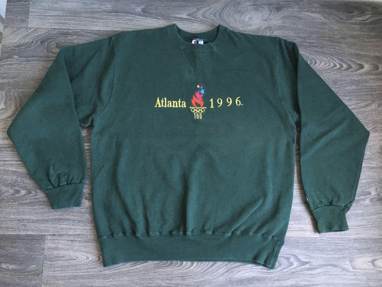 Olympics Sweatshirt 1996 Vintage Champion Atlanta Games Green Sewn Usa Made Large By Sweetvtgtshirt On Etsy Sweatshirts Vintage Champion Olympics [ 2250 x 3000 Pixel ]
