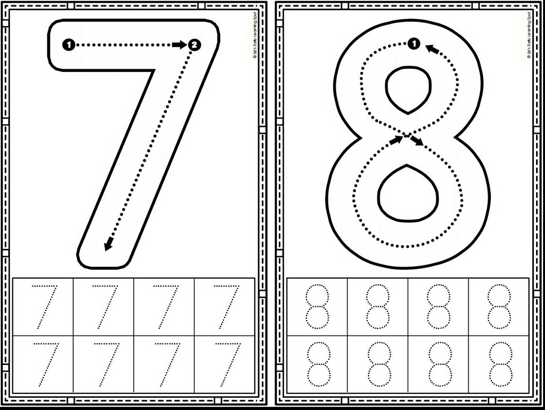 New Tracing Worksheet Number 9 Nueva Ficha De Trazo Nmero 9