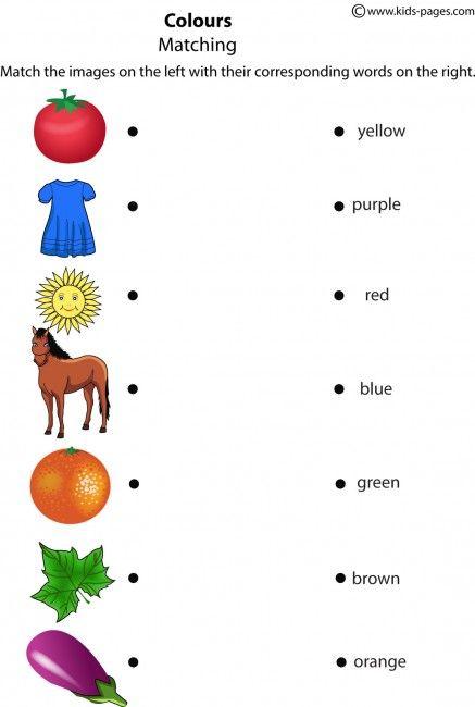 Colours Worksheet Color Worksheets English Worksheets For Kids English Lessons For Kids