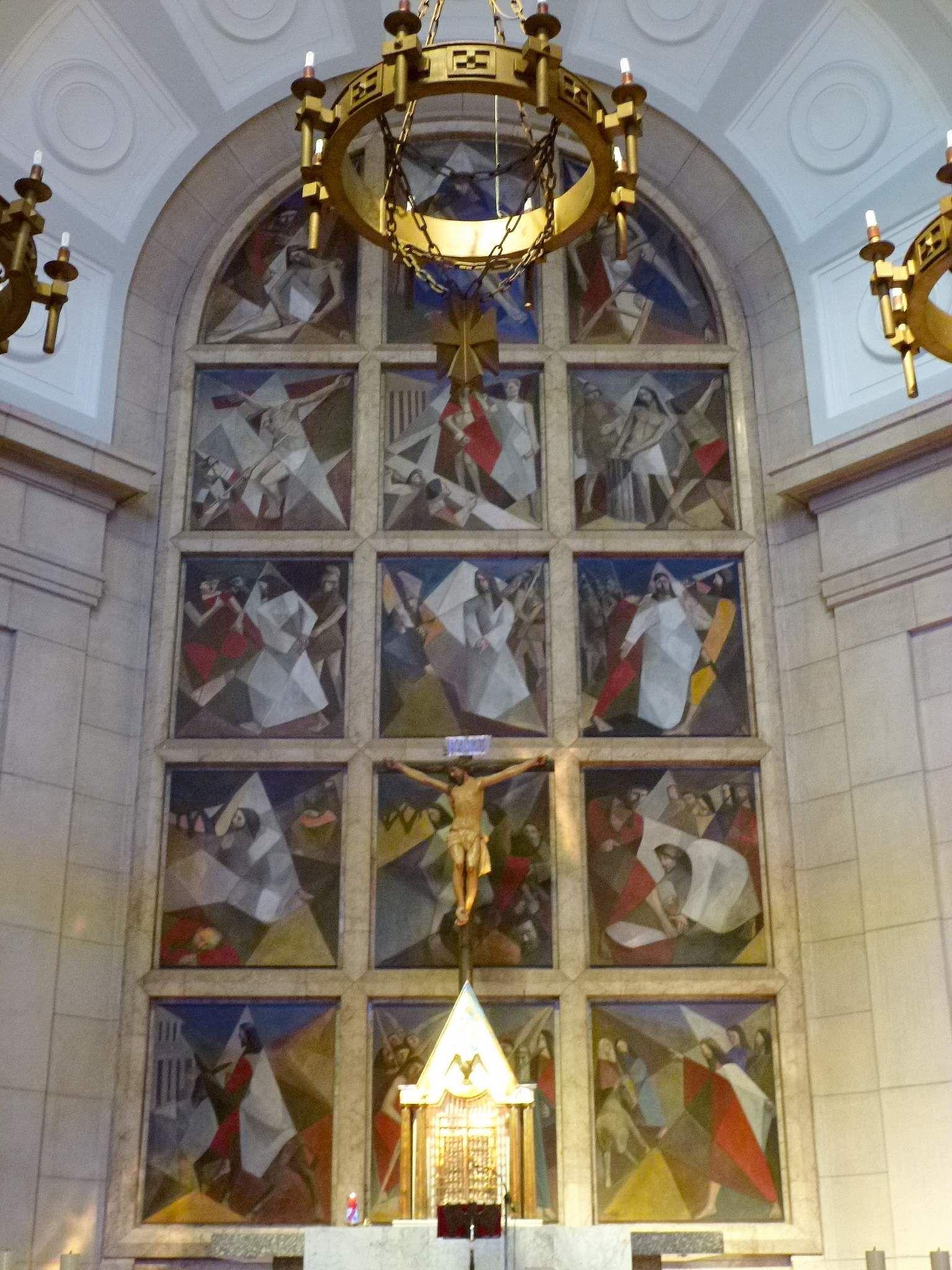 Iglesia Del Stmo Cristo De La Victoria Retablo Del A Mayor Madrid Ciudad Iglesia Cristo
