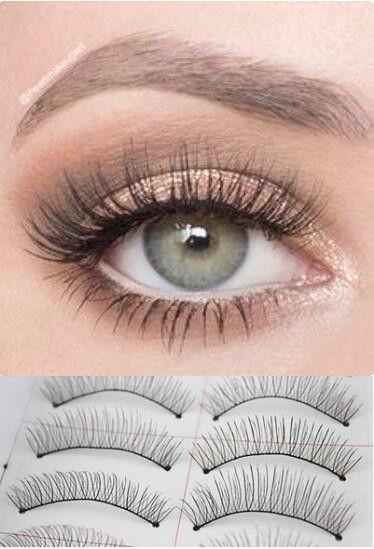6dd5faacd44 10 Pairs Natural Handmade Thick Long False Eyelashes Soft Fake Eye Lashes  Extension Voluminous Makeup [9005548932]