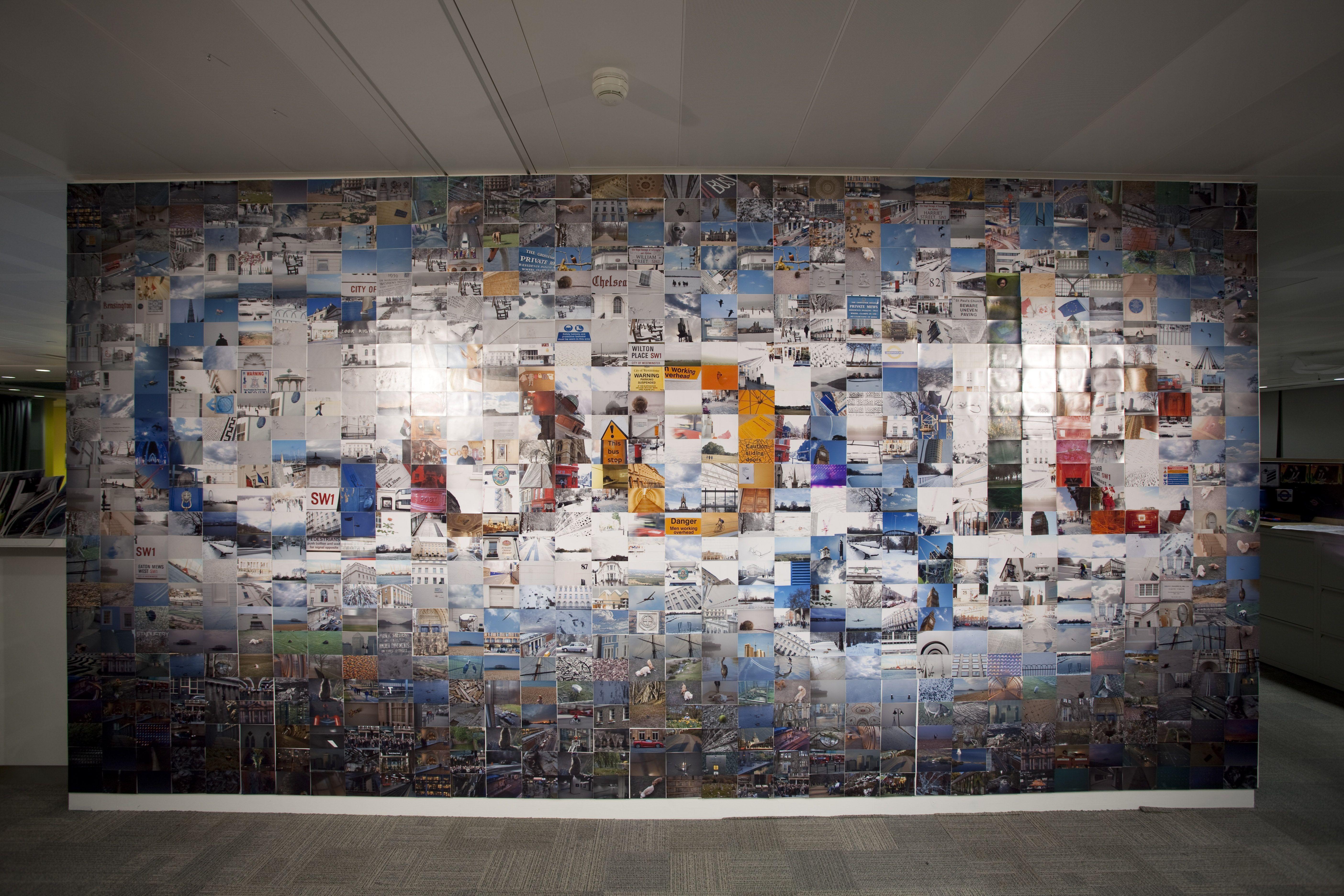 Winners From Google S Wall Art Contest Office Wall Art Wall Art