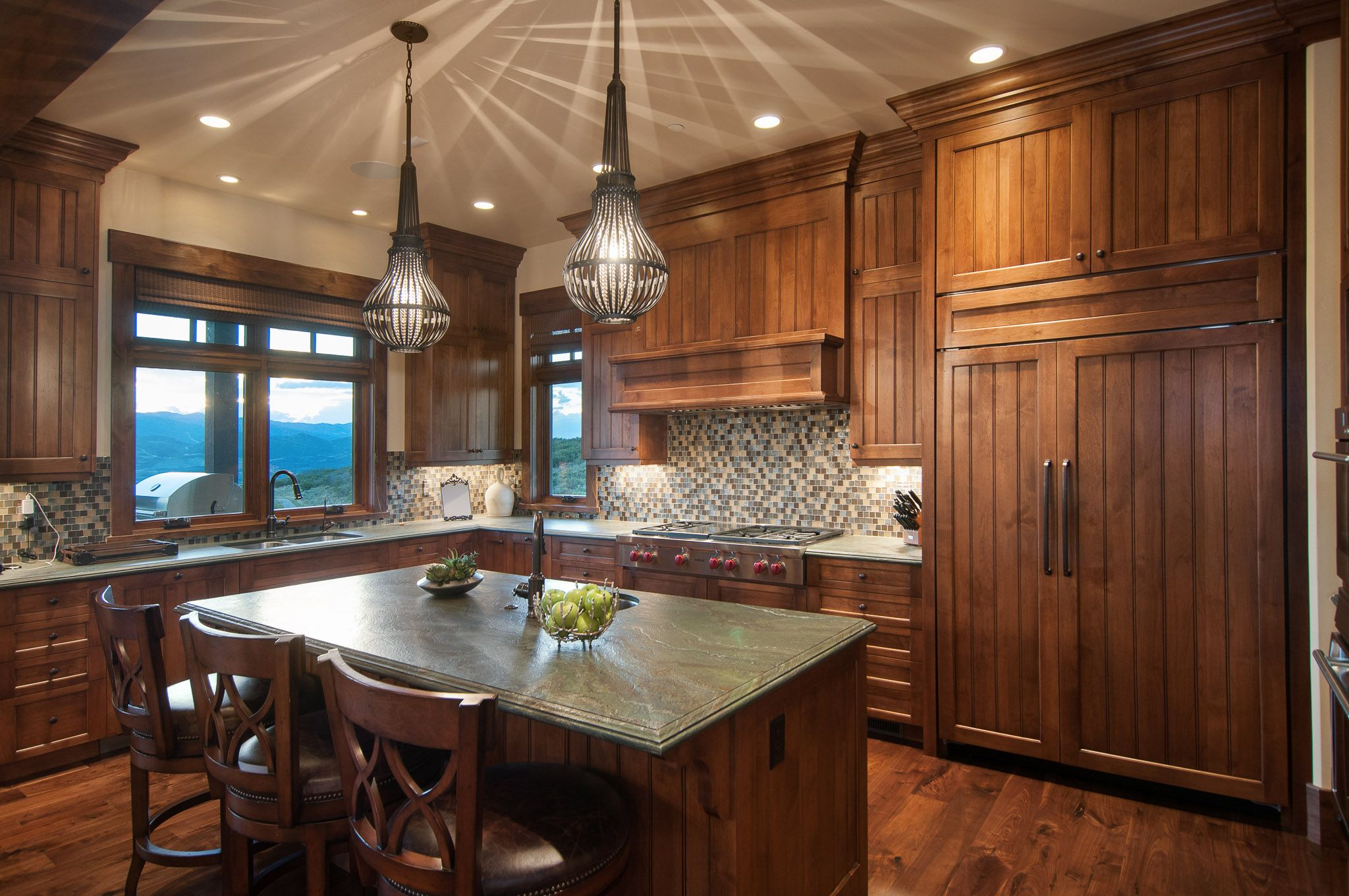 Gorgeous Kitchen By Cameo Homes Inc. In Tuhaye, Park City, Utah. Cabinetry  · Soapstone CountertopsSub ...