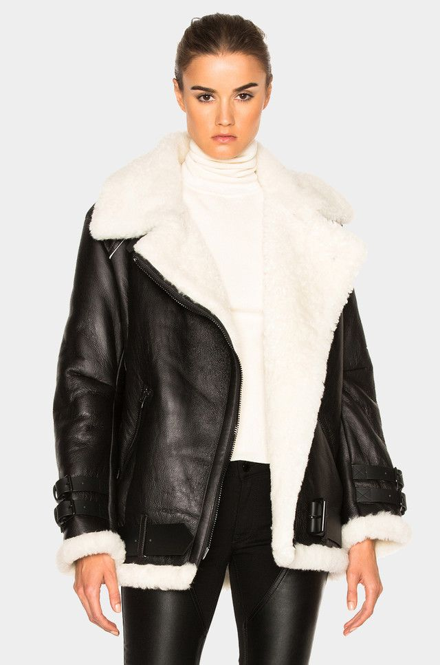 Save, Spend, Splurge: Shearling Jackets