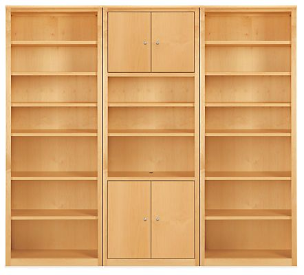 Room Board Woodwind 86h Bookcase Wall Units Modern Bookcases Shelving Modern Office Furniture Bookcase Wall Unit Bookcase Wall Modern Shelving