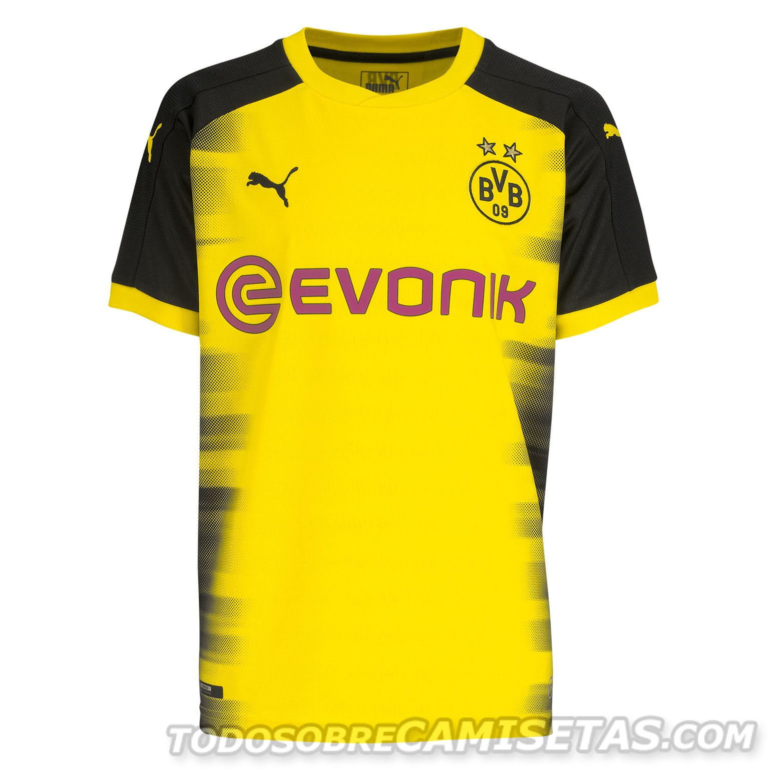Borussia Dortmund 2017-18 PUMA International Kit Jersey Camisa f643467b959fb