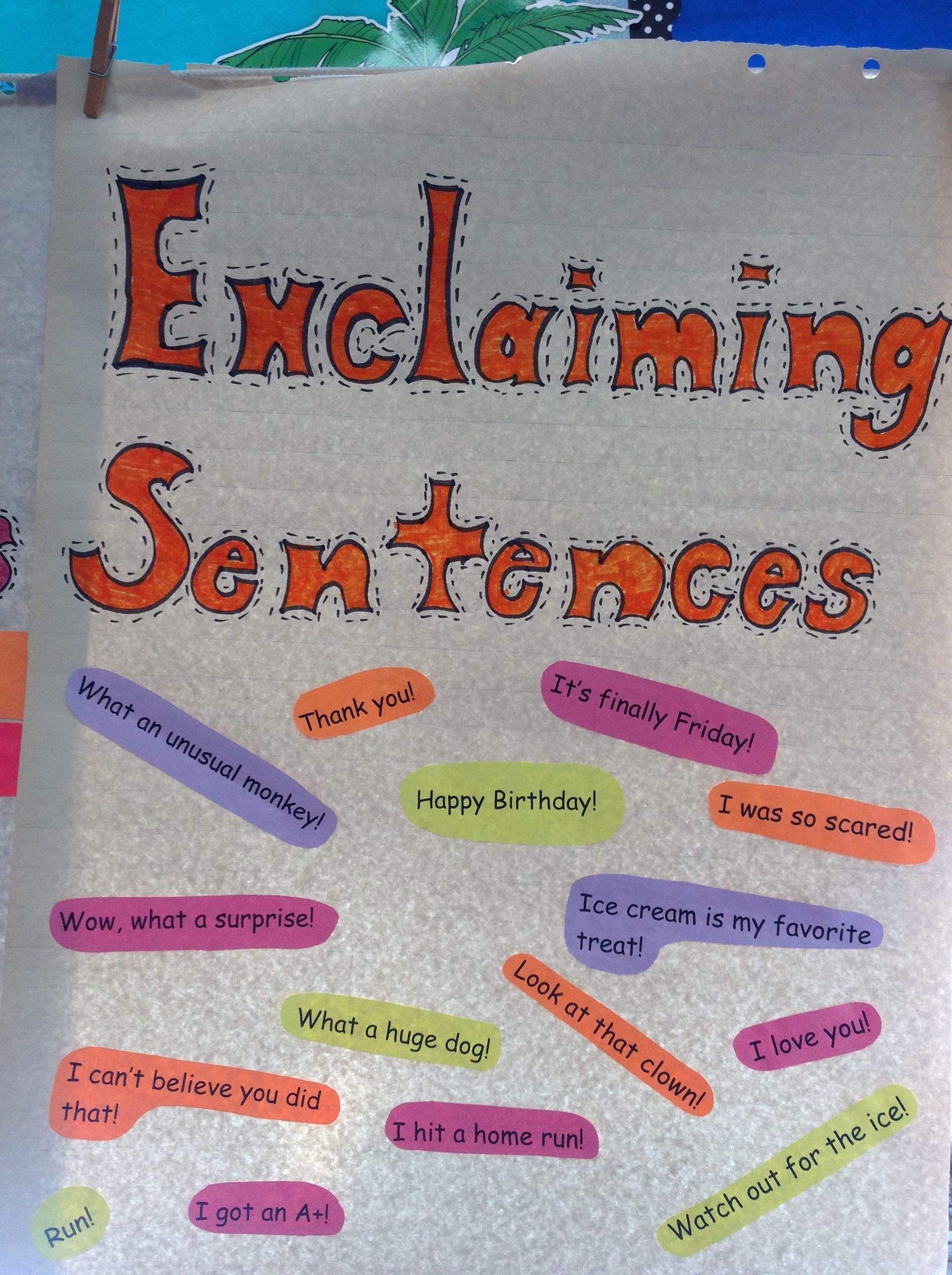 Students Sort Out Sentences Into The Types Of Sentences