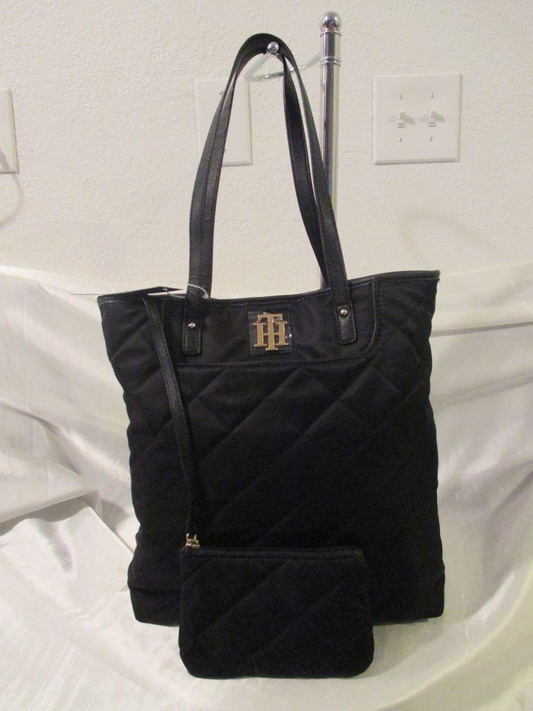 ba14c80874a Bag Purse Handbag Tommy Hilfiger New Color Black NS Tote 6932824 990 # TommyHilfiger #Totes