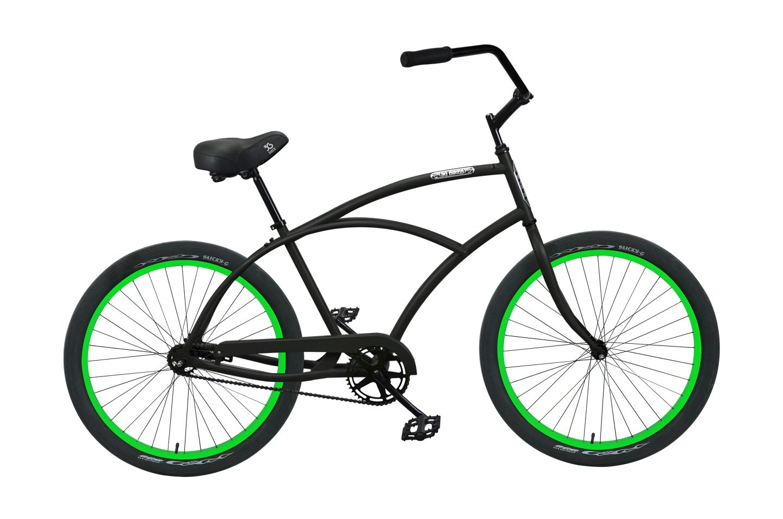 Mens venice single speed beach cruiser bicycle bike