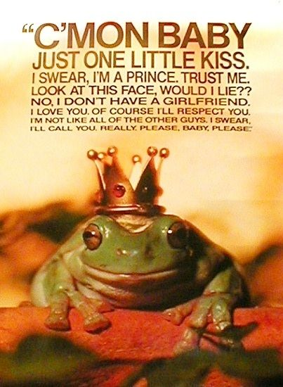 C'mon baby, just one little kiss.