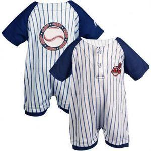 Little Me Baby-Boys Newborn Baseball Romper