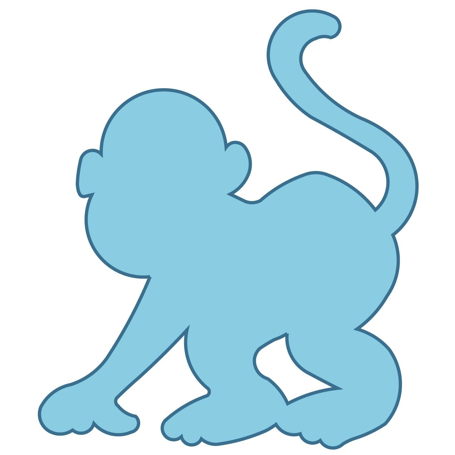 monkey shape
