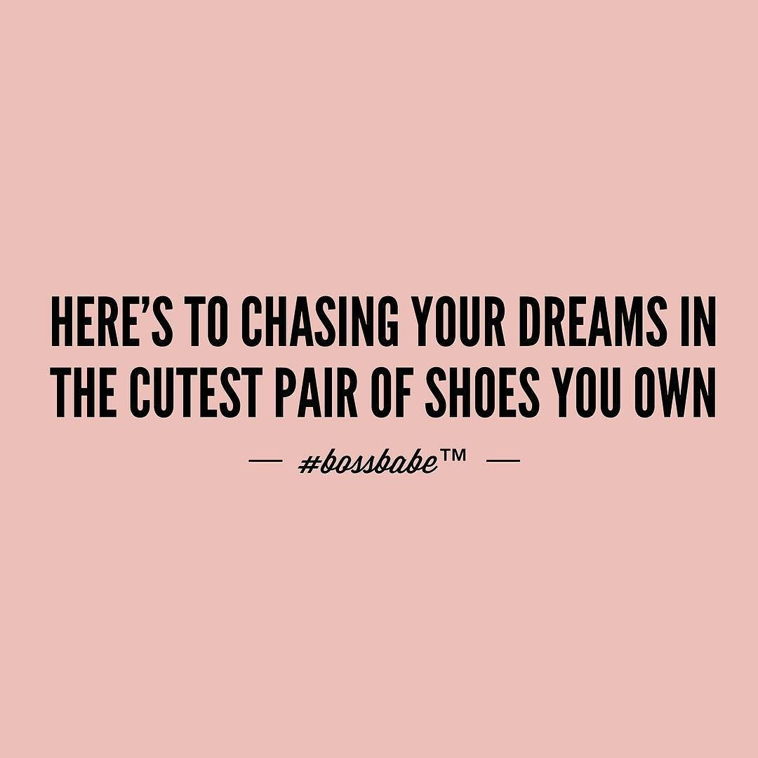 What pair would you wear? Join the Bossbabe Netwerk