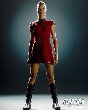 Zoe Saldana Zoe Saldana Star Trek Star Trek Cosplay Star