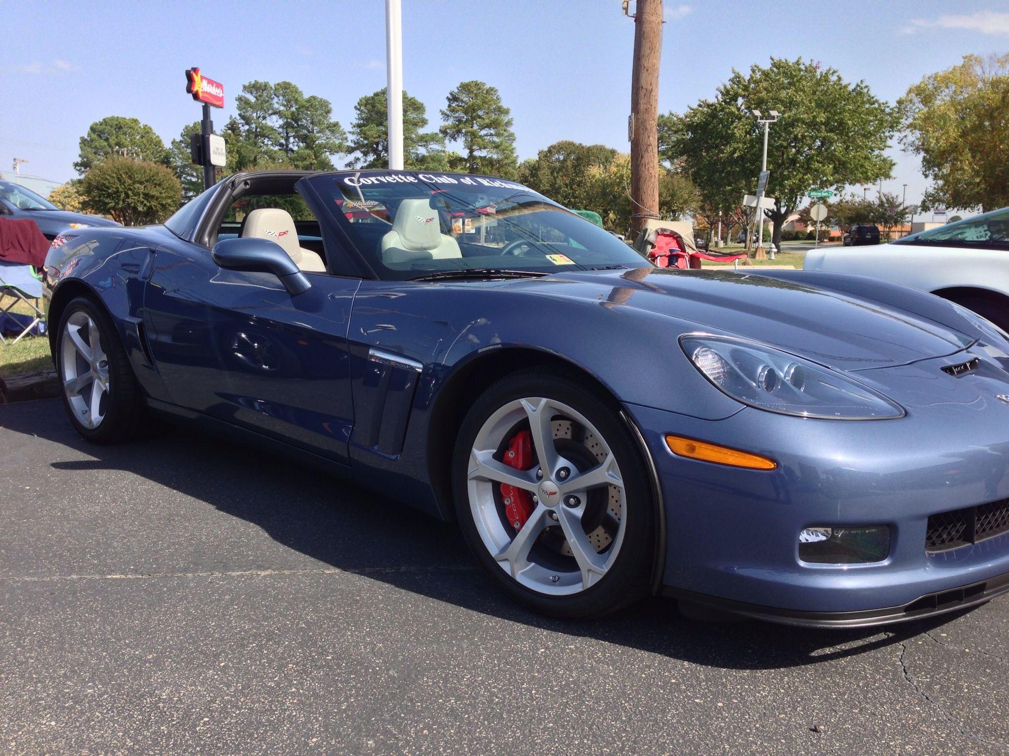 My 2012 Grand Sport Ls3 In Supersonic Blue Sportscar Corvette Bmw