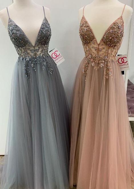 Vestiti Eleganti Junior.2019 Trendy Prom Dresses Abiti Abiti Scintillanti E Vestiti
