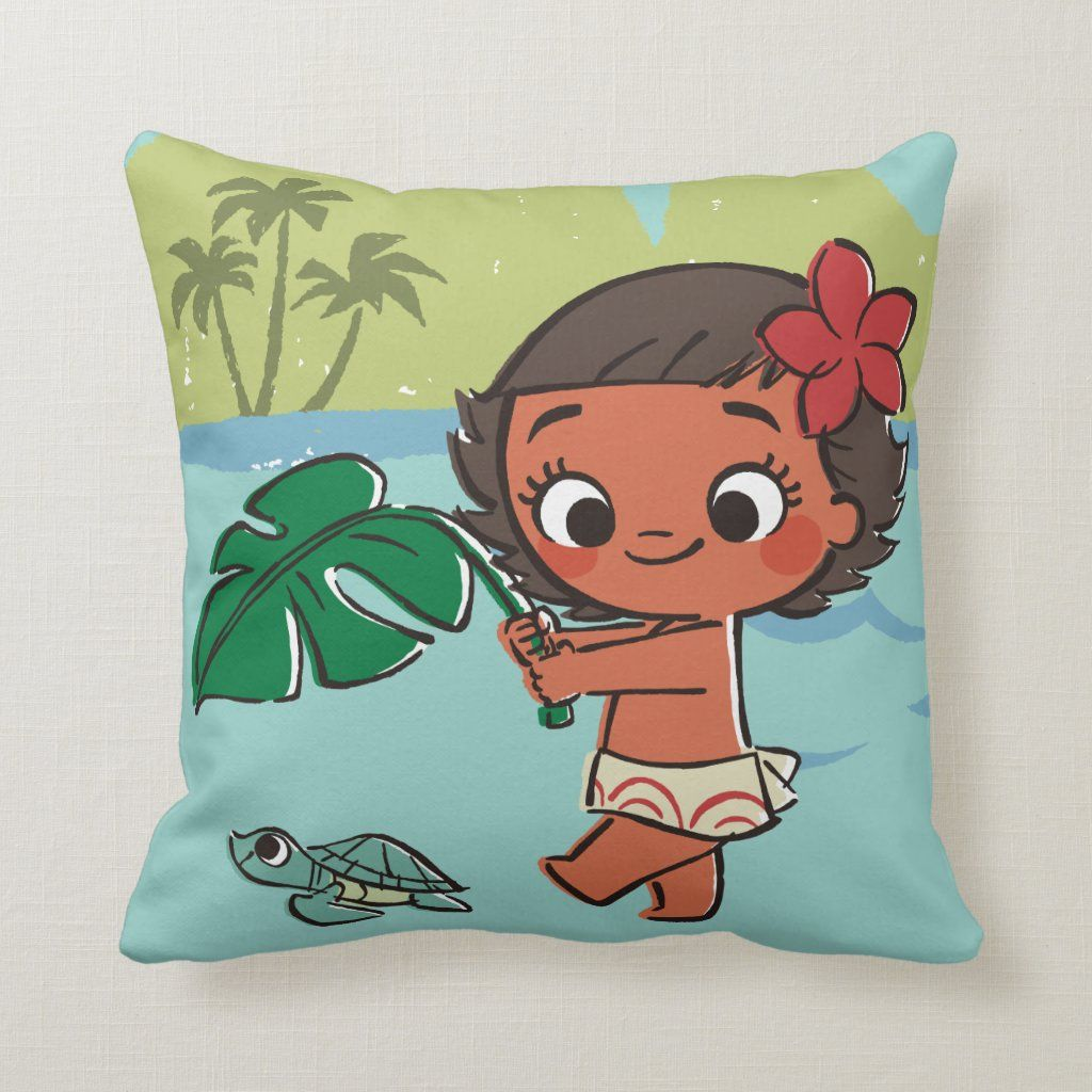 moana  born to be in the sea throw pillow  zazzle in
