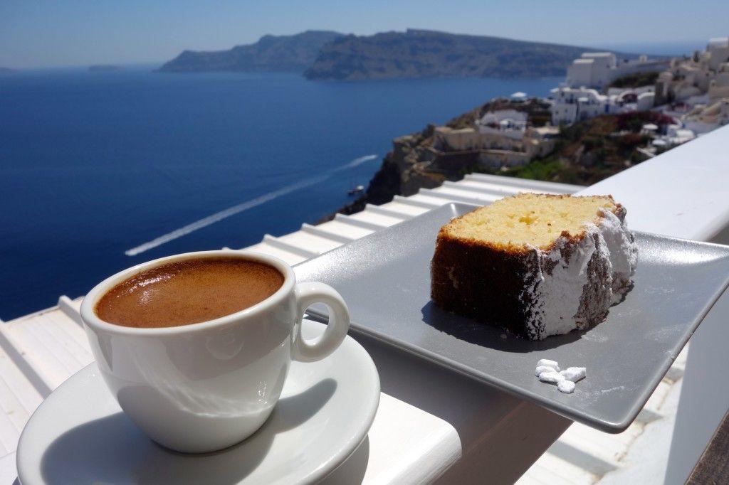 Skiza | Oia. Santorini | Espresso recipes. Tea cakes. Scrumptious desserts